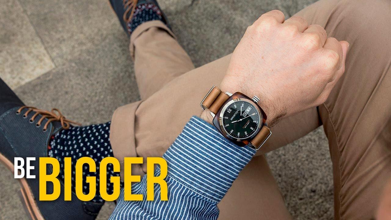 Как выбрать мужские часы? Стили наручных часов.