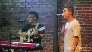 Ryan Mitchell Grey feat AJ Rafael - I Knew You Were Trouble Live