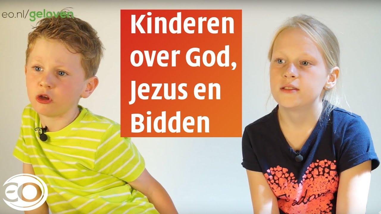 Ongekend Kinderen over God, Jezus en bidden - YouTube FM-97