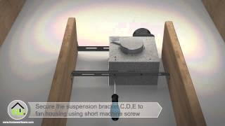 home netwerks bluetooth bath fan with led light installation video