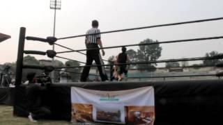 1st International Wrestling in Nepal 2016 Part 4 of 6