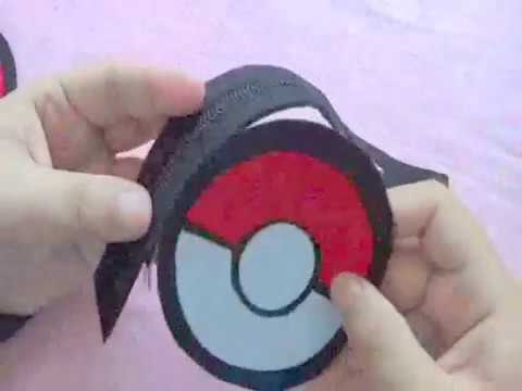 Tutorial : Pokeball Felt purse