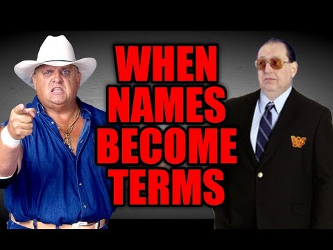 7 WRESTLER NAMES That Became WRESTLING TERMS