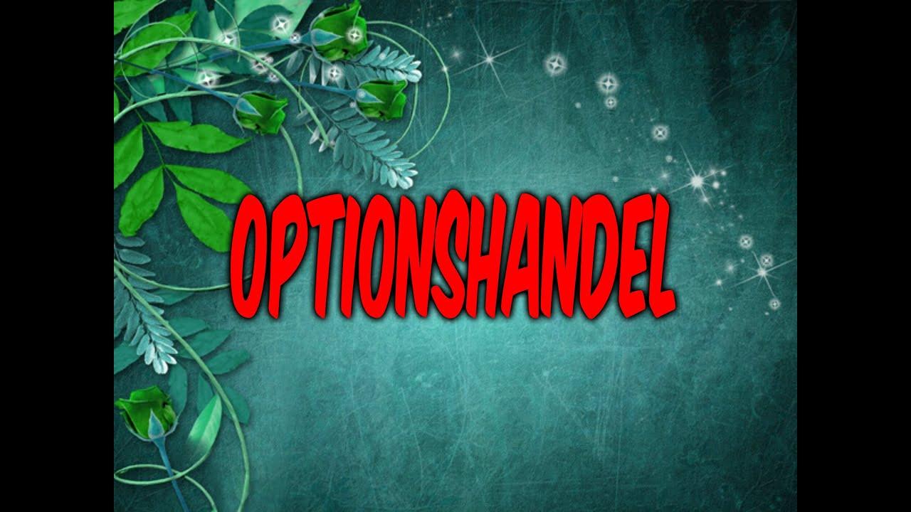 binäre optionshandel demokonto