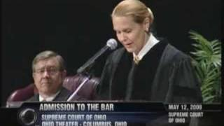 2008 Ohio Admission to the Bar Speech by Evelyn Stratton
