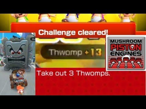New Year S Tour Take Out 3 Thwomps Mario Kart Tour I