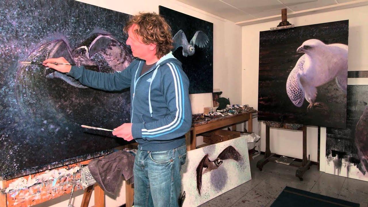 contemporary wildlife artist ewoud de groot interview