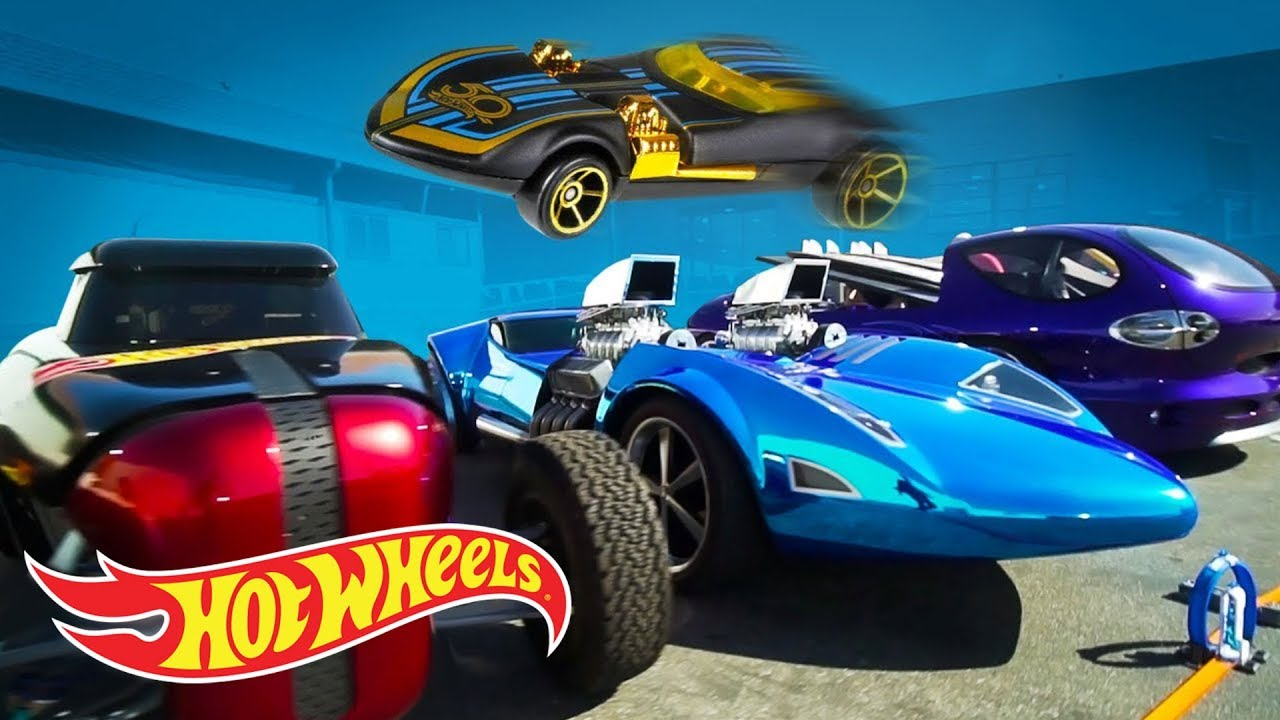 HOT WHEELS JUMPS 5 PRICELESS CARS | Hot Wheels Unlimited | Hot Wheels