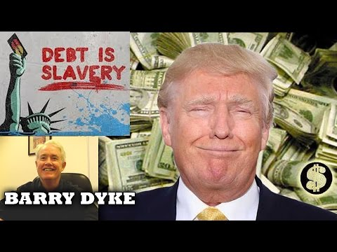 We Don't Enslave People In Chains Anymore, We Enslave Them In Debt - Barry Dyke