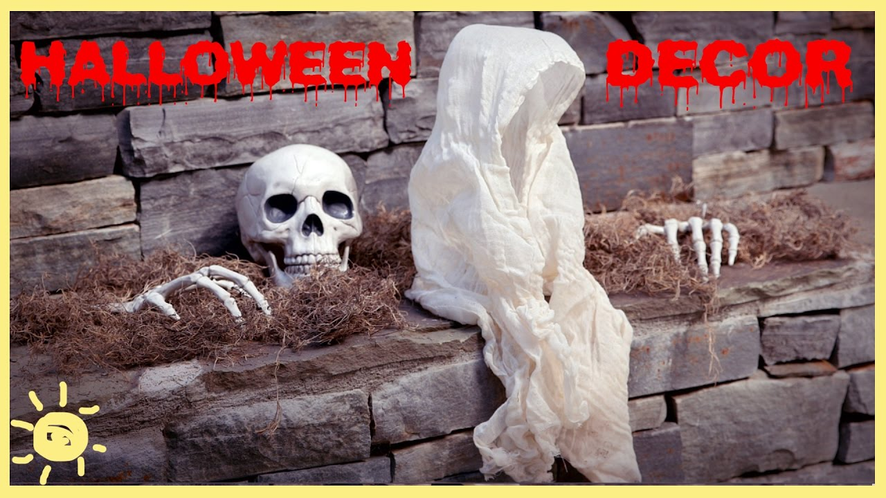 Diy Super Spooky Halloween Decor Youtube