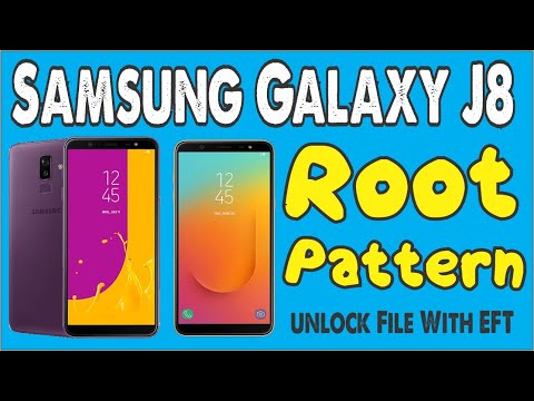 Samsung J8 J810F Make Root & Pattern unlock File With EFT DONGLE Without  Data Loss