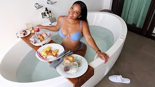 JACUZZI MUKBANG IN MEXICO!! DID I BRING SOMEONE WITH ME?