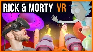Das krasseste Game Ende EV4R!!! - Rick and Morty VR