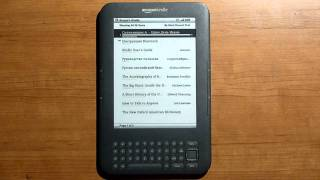 Электронная книга Amazon Kindle Keyboard - видео обзор(Интернет-магазин www.kindle.by представляет краткий видео обзор популярной электронной книги Amazon Kindle Keyboard., 2010-12-15T03:38:50.000Z)