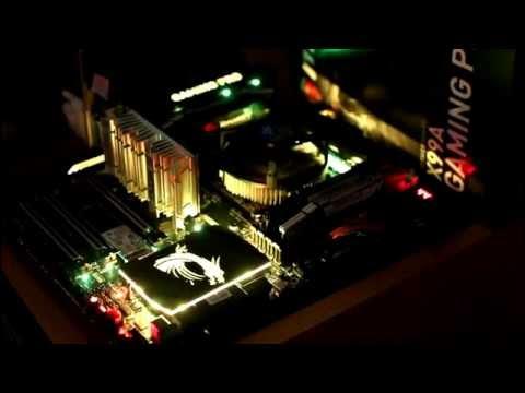 MSI X99A GAMING PRO CARBON:  Mystic Light AMAZING - LED RGB / CHROMA / AURA