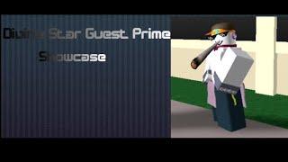 Divine Star Guest Prime Showcase  project jojo fusion