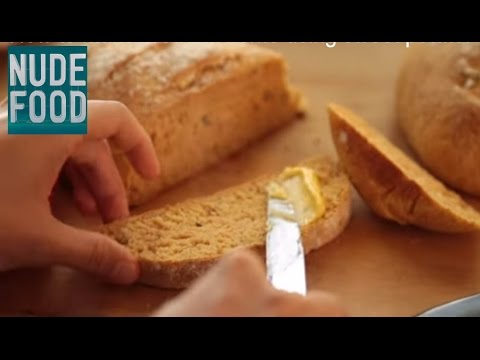 How to make healthy and delicious bread at home - using sweet potato!