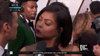 Taraji P. Henson SHADING Ryan Seacrest Right To His Face Is Legendary | 2018 Oscars