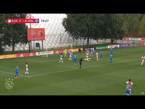 Ajax Vs Holstein Kiel Janni Serra 71 Youtube