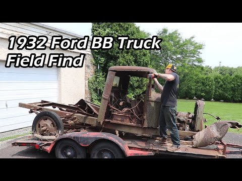 1932 Ford BB Truck - Field Find