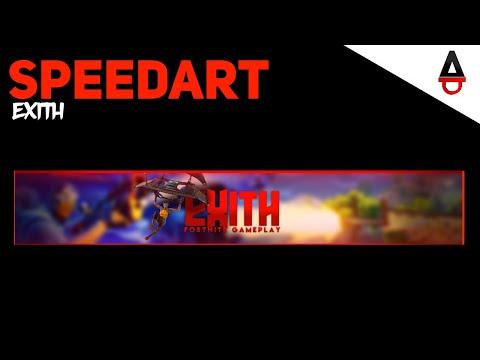 Exith Banner Speedart
