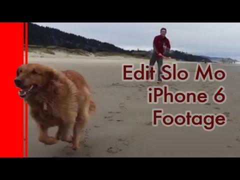 How to quickly edit Slow Motion footage on an iPhone 6