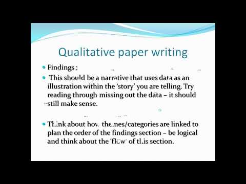 Hayter, Mark-Writing Qualitative Research Papers For International, Peer Review Journals
