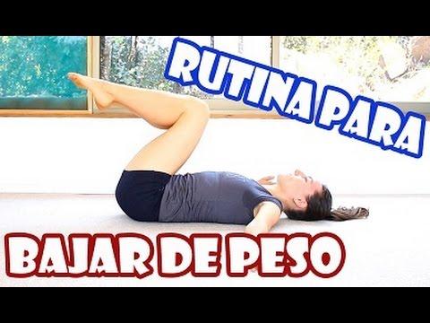 Youtube ejercicios cardio para bajar de peso
