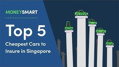 Top 5 Cheapest Cars to Insure in Singapore!