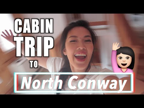VLOG | Cabin Trip - North Conway, NH