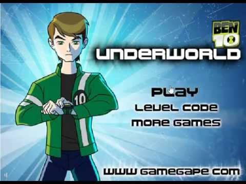 เกมส์ เกมเบนเทน Ben10 Underworld เกมส์เบนเทน เกมส์ผจญภัย เกมเบนเทน  เกมผจญภัย