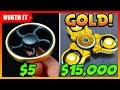 5 FIDGET SPINNER VS 15 000 GOLD FIDGET SPINNER mp3