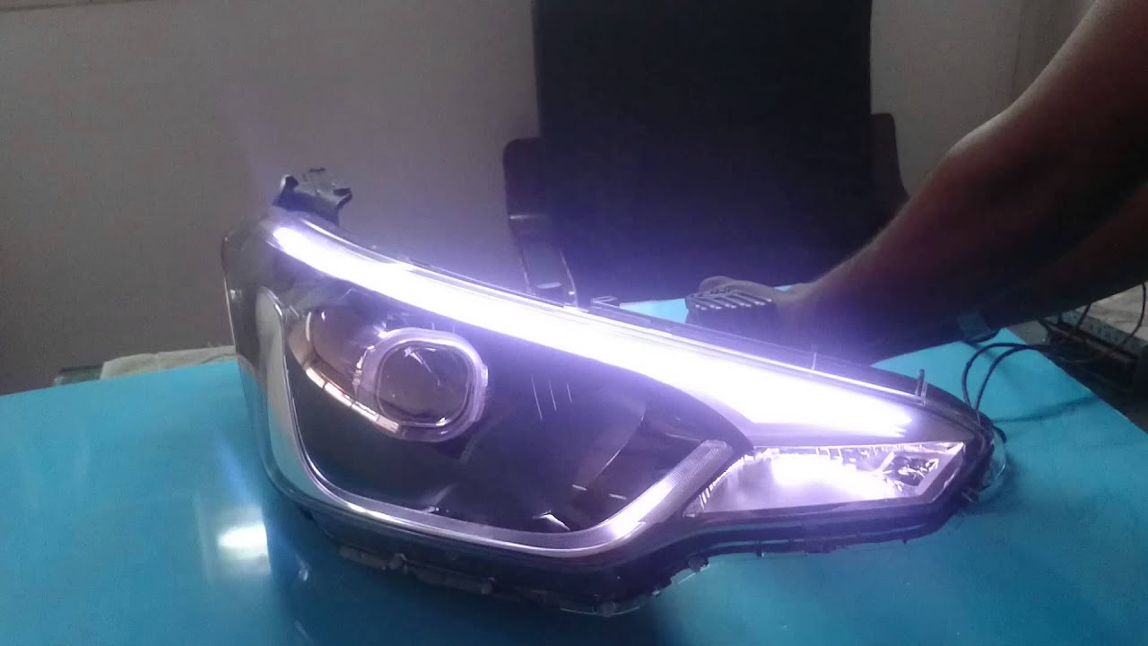 Projector Headlamps For Hyundai I20 Elite Youtube