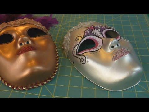 How to Create a Venetian Inspired Mask