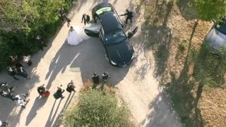 Mariano DI Vaio's wedding day - Shot with Drones