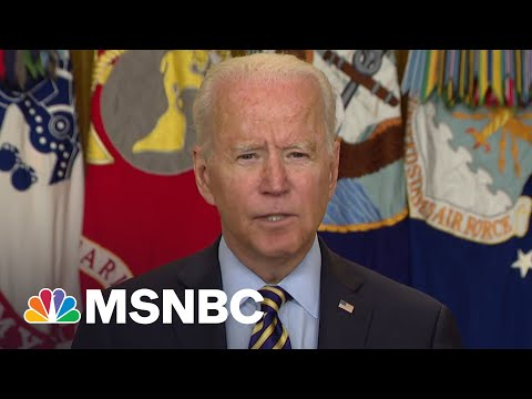 Biden Announces US Military Mission In Afghanistan Will End August 31