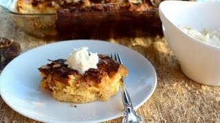 {dessert Recipe} Bread Pudding With Hard Sauce By Cookingforbimbos.com