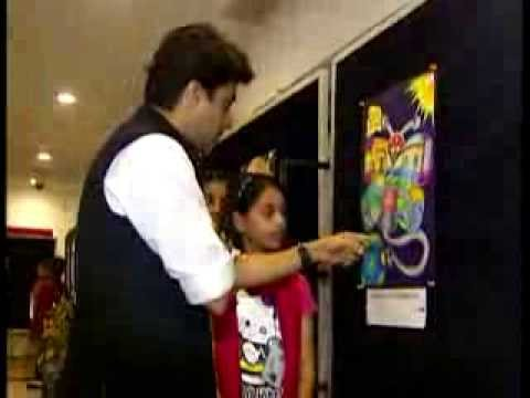 45 lakhs students participate in national energy for Save energy painting