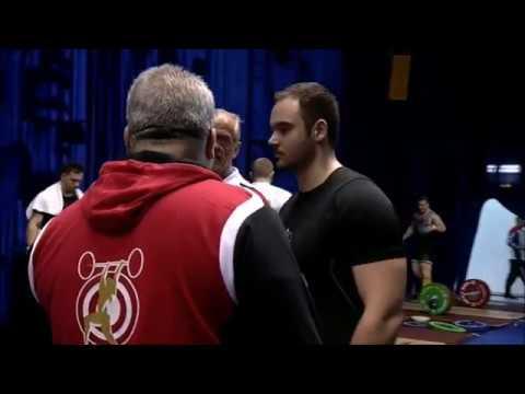 2018 European Weightlifting 105 kg A