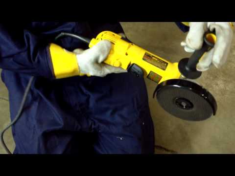 HMT Grinder Safety Training