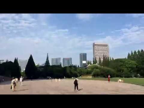 Fudan University Campus Tour, time-lapse