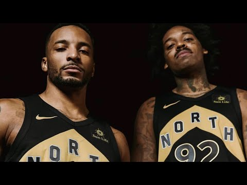 The Toronto Raptors Have Unveiled Their OVO Jerseys & Court