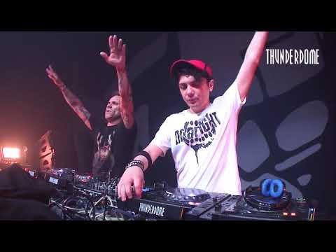 DJ Mad Dog vs Noize Suppressor at Thunderdome 2017