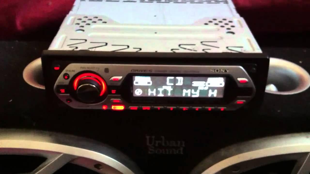 Sony Drive S Cdx Gt300 Wiring Diagram Toyota Yaris 2016 Radio Gt300s Youtube