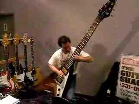 dude rocks out on a monster sized flying v guitar youtube. Black Bedroom Furniture Sets. Home Design Ideas