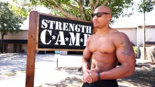 Strength Camp Workout & Motivational Speech With Elliott Hulse | #EverydayDomination vlog 019