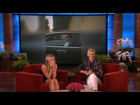 Jennifer Aniston Stalks Clint Eastwood