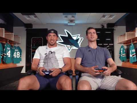 Dillon & Jones Play the Kings in NHL 17