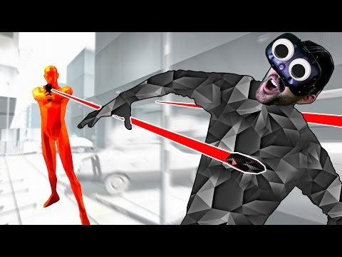 ONLY I CONTROL TIME! | SuperHot VR |