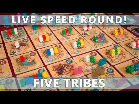 Five Tribes - LIVE - Speed Round